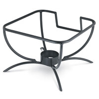 Vollrath 46112 Black Wire Chafer Stand for 6 Qt. Square Intrigue Induction Chafers