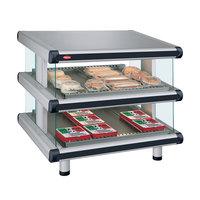 Hatco GR2SDS-54D Glo-Ray Designer 54 inch Slanted Double Shelf Merchandiser