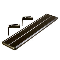 Carlisle 662003 Black Tray Slide for 4' Six Star Portable Food Bars