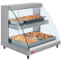 Hatco GRCDH-2PD 32 inch Glo-Ray Double Shelf Merchandiser with Humidity Control - 1460W