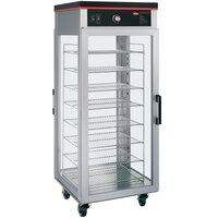 Hatco PFST-2X Flav-R-Savor 57 inch Tall Pass-Through Dry Holding Cabinet - 120V