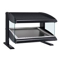 Hatco HZMS-60 Black 60 inch Slanted Single Shelf Heated Zone Merchandiser - 120V