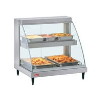 Hatco GRCD-1PD 20 inch Glo-Ray Double Shelf Merchandiser - 860W