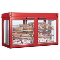 Hatco LFST-48-1X Flav-R-Savor Two Door Large Capacity Merchandising Cabinet - 120/208V, 2150W