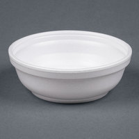 Dart Solo 6B20 6 oz. Insulated White Foam Bowl - 50/Pack