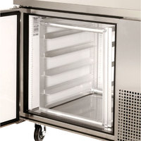 True 832050 Half Height 21 inch x 24 inch x 22 1/2 inch Sheet Pan Rack