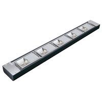 Hatco NLX-72 72 inch Black Narrow Xenon Display Light - 450W