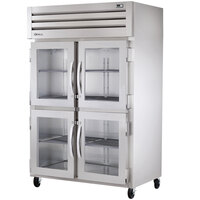 True STA1H-2HG Specification Series Two Section Glass Half Door Reach In Heated Holding Cabinet