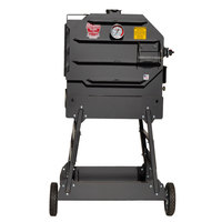 R & V Works CES6 Cajun Express Smoker - 6 Rack, LP