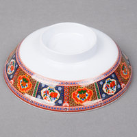Thunder Group 3201CTP Peacock 5 1/4 inch Melamine Lid for Noodle Bowl - 12/Case