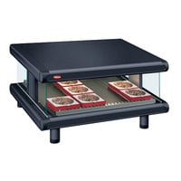 Hatco GR2SDS-42 Black Glo-Ray Designer 42 inch Slanted Single Shelf Merchandiser - 120V