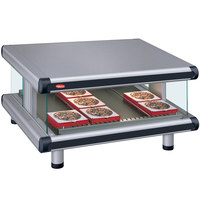 Hatco GR2SDS-30 Gray Granite Glo-Ray Designer 30 inch Slanted Single Shelf Merchandiser - 120V
