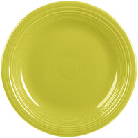 Homer Laughlin 466332 Fiesta Lemongrass 10 1/2 inch Plate - 12/Case