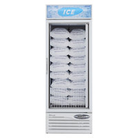 Turbo Air TGIM-23 27 inch White Glass Door Ice Merchandiser