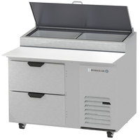 Beverage-Air DPD46-2 46 inch Two Drawer Pizza Prep Table