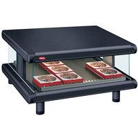 Hatco GR2SDS-48 Black Glo-Ray Designer 48 inch Slanted Single Shelf Merchandiser - 120V