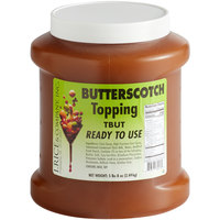 I. Rice 1/2 Gallon Butterscotch Dessert / Sundae Topping - 6/Case
