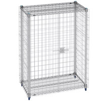 Metro MQSEC56E 27 inch x 63 inch x 66 inch MetroMax Q Stationary Security Unit