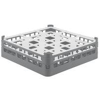 Vollrath 52761 Signature Full-Size Gray 9-Compartment 4 13/16 inch Medium Plus Glass Rack