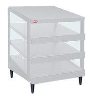 Hatco GRPWS-3618T Granite White Glo-Ray 36 inch Triple Shelf Pizza Warmer - 120/208V, 2160W