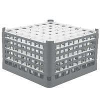 Vollrath 52735 Signature Full-Size Gray 49-Compartment 9 15/16 inch XXX-Tall Glass Rack