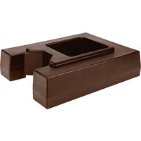 Cambro R1000LCD131 4 1/2 inch Dark Brown Riser for 10.5 and 11.75 Gallon Cambro Insulated Beverage Dispensers