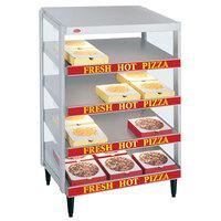 Hatco GRPWS-3618Q Granite White Glo-Ray 36 inch Quadruple Shelf Pizza Warmer - 2880W