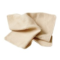 Chef Revival 700WT 18 inch x 18 inch Natural Waffle-Weave Bar Towel   - 12/Pack