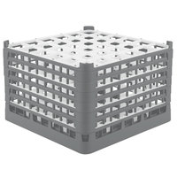 Vollrath 52739 Signature Full-Size Gray 36-Compartment 11 3/8 inch XXXX-Tall Glass Rack