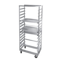 Channel 410S-OR Side Load Stainless Steel Bun Pan Oven Rack - 30 Pan