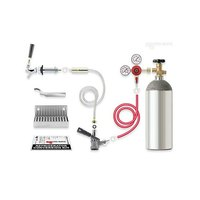 Micro Matic RCK-S Standard Kegerator Door Mount Conversion Kit with Gas Cylinder