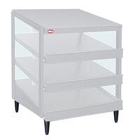 Hatco GRPWS-3624T Granite White Glo-Ray 36 inch Triple Shelf Pizza Warmer - 2700W