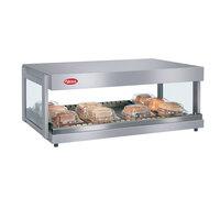 Hatco GRSDH-30 White Granite Glo-Ray 30 inch Horizontal Single Shelf Merchandiser - 120V