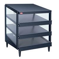 Hatco GRPWS-3624T Granite Gray Glo-Ray 36 inch Triple Shelf Pizza Warmer - 120/240V, 2700W