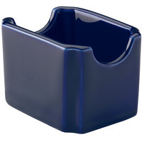 Hall China 30716105 Cobalt Blue Colorations Sugar Packet Holder - 24/Case