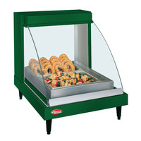 Hatco GRCD-1P Green 20 inch Glo-Ray Full Service Single Shelf Merchandiser - 120V, 410W