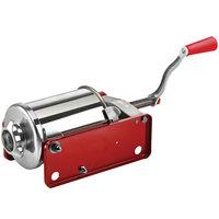 Manual 6 lb. Horizontal 2-Speed Enameled Steel Sausage Stuffer