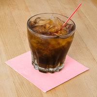 Hoffmaster 180327 Pink Beverage / Cocktail Napkin - 1000/Case