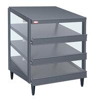 Hatco GRPWS-4818T Granite Gray Glo-Ray 48 inch Triple Shelf Pizza Warmer - 2880W