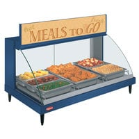 Hatco GRCD-3P Navy 45 inch Glo-Ray Full Service Single Shelf Merchandiser - 120V, 1005W