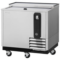 Turbo Air TBC-36SD-N6 36 inch Super Deluxe Stainless Steel Bottle Cooler