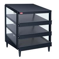 Hatco GRPWS-4824T Black Glo-Ray 48 inch Triple Shelf Pizza Warmer - 3585W
