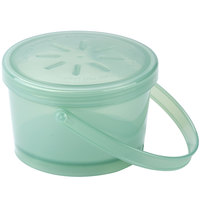 GET EC-07 12 oz. Jade Green Reusable Eco-Takeouts Soup Container - 12/Pack