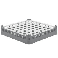 Vollrath 52784 Signature Full-Size Gray 49-Compartment 3 1/4 inch Short Plus Glass Rack