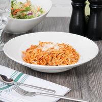 Tuxton ASU-063 San Marino AlumaTux Pearl White 10.5 oz. Pasta / Salad Bowl - 12/Case