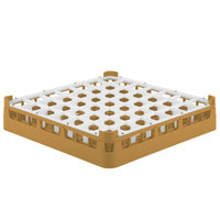 Vollrath 52784 Signature Full-Size Gold 49-Compartment 3 1/4 inch Short Plus Glass Rack