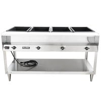 Vollrath 38118 ServeWell Electric Four Pan Hot Food Table 208/240V - Sealed Well