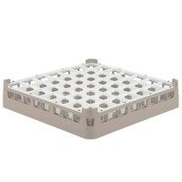 Vollrath 52784 Signature Full-Size Beige 49-Compartment 3 1/4 inch Short Plus Glass Rack