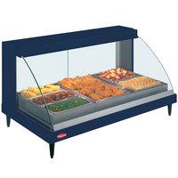 Hatco GRCDH-3P Navy 46 inch Glo-Ray Full Service Single Shelf Merchandiser with Humidity Controls - 1255W