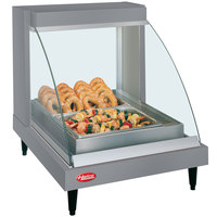 Hatco GRCDH-1P Gray 20 inch Glo-Ray Full Service Single Shelf Merchandiser with Humidity Controls - 660W